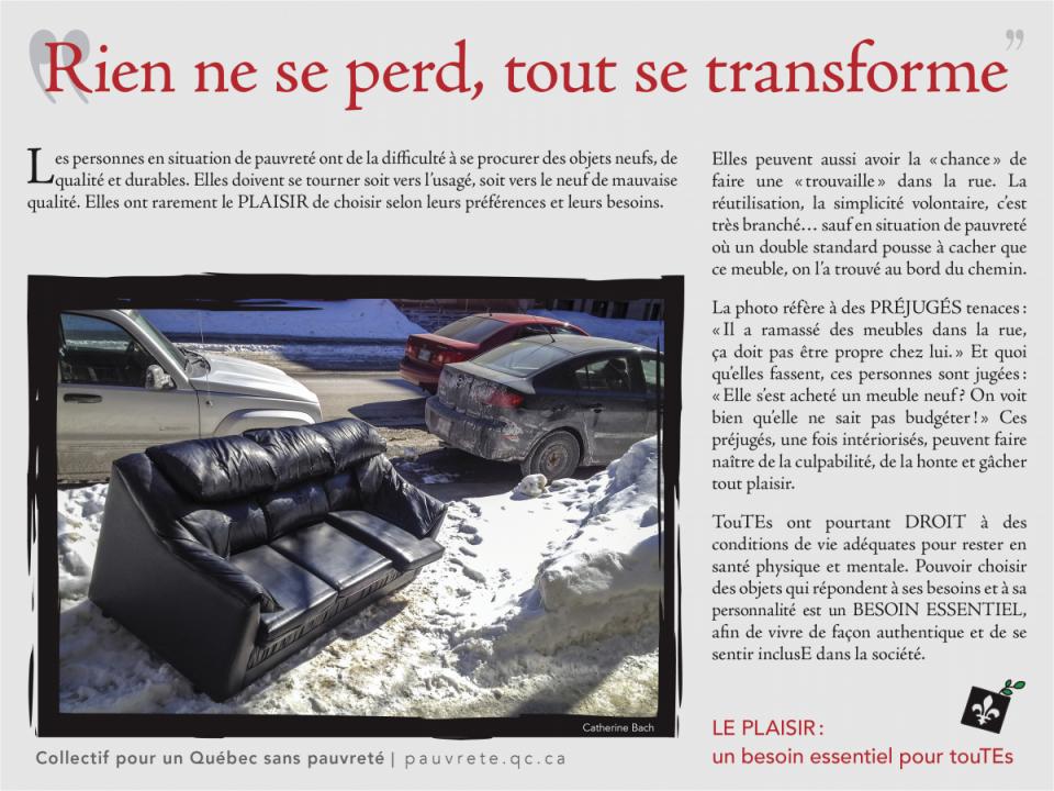 Photovoix Collectif Pour Un Quebec Sans Pauvrete